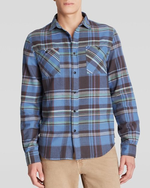 Plaid Button Down Shirt by Threads For Thought in The Best of Me
