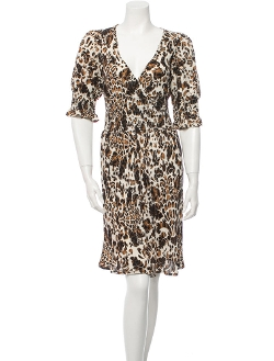 Silk Dress by Diane von Furstenberg in The Devil Wears Prada