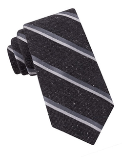 Speckled Striped Silk Tie by Ted Baker in Wedding Crashers