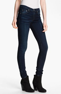 Skinny Stretch Jeans by Rag & Bone/Jean in That Awkward Moment