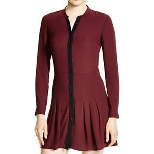 Pleated Shirt Dress by The Kooples in Fifty Shades Darker