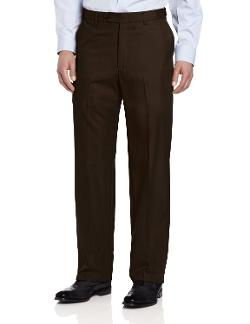 Men's Big-Tall Expander Flat Front Pant by Ascott Browne in Jersey Boys