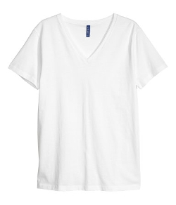 V-Neck T-Shirt by H & M in Max