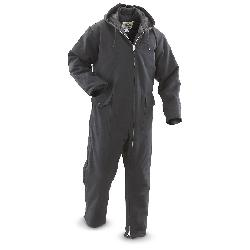 Men's Insulated Coveralls by WORK HORSE in Godzilla