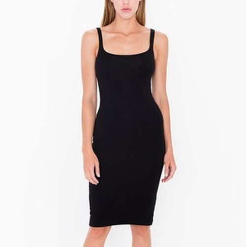 Ponte Tank Dress by American Apparel in Keeping Up With The Kardashians - Season 11 Episode 7