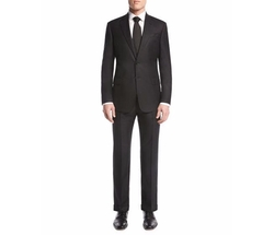 Soft Basic Two-Piece Suit by Giorgio Armani in House of Cards