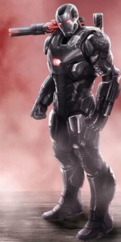 Custom Made War Machine Suit by Judianna Makovsky (Costume Designer) in Captain America: Civil War