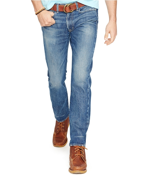 Varick Slim-Straight Weston-Wash Jeans by Polo Ralph Lauren in Magic Mike XXL