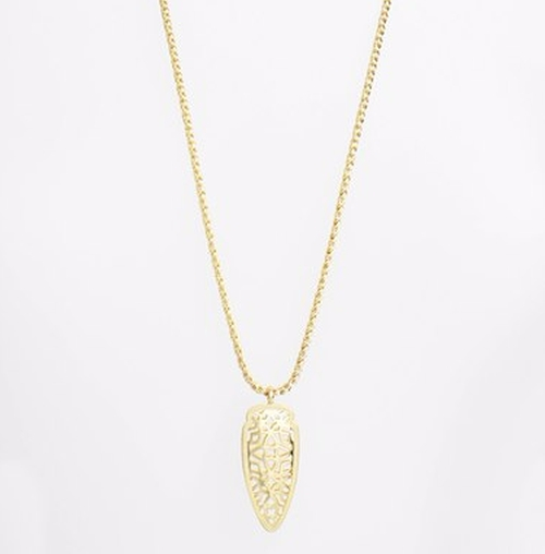 'Glam Rocks - Sienna' Pendant Necklace by Kendra Scott in Lady Dynamite