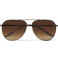 Hawkeye Tortoiseshell Aviator Sunglasses by Barton Perreira in Trainwreck