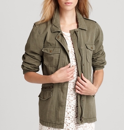 Army Jacket by Velvet by Graham & Spencer in New Girl