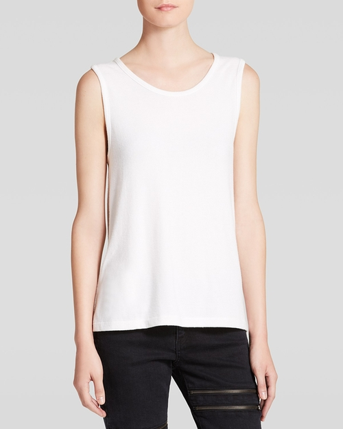Jean Boyfriend Tank Top by Rag & Bone in We Are Your Friends