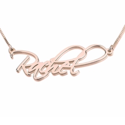 Script Name Necklace by One Necklace in Pretty Little Liars