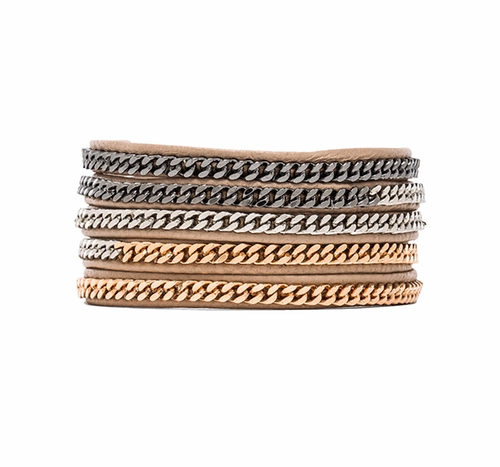 Capri 5 Wrap Bracelet by Vita Fede in Power Rangers
