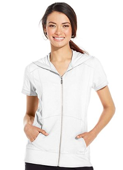 Sport Short-Sleeve Zip-Front Hoodie by Style&co. in St. Vincent
