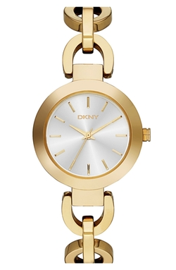 'Stanhope' Chain Link Bracelet Watch by DKNY in Love Actually