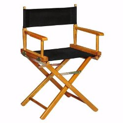 Honey Frame Director's Chair by The Home Depot in Drive
