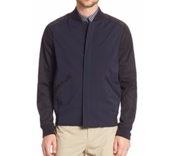 Ferge Bomber Jacket by Theory in Arrow