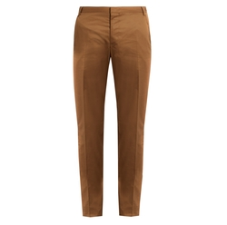 Regular Fit Cotton Chino Trousers by Lanvin in Scream Queens