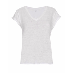 Romana Linen T-Shirt by Velvet by Graham & Spencer in Chelsea