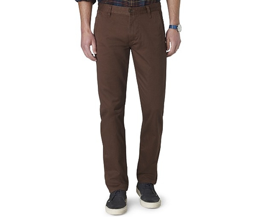 D1 Slim Tapered Fit Alpha Khaki Flat Front Pants by Dockers in Black Mass