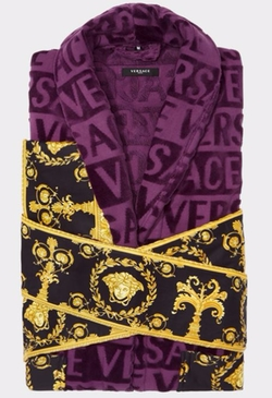 Baroque Bathrobe by Versace in Empire