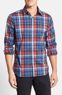 Villamont Plaid Sport Shirt by Victorinox Swiss Army in Safe House