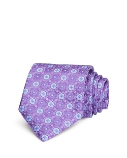 Medium Medallion Classic Tie by Canali in The Blacklist