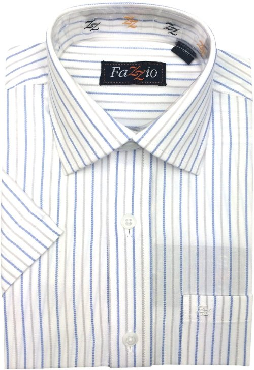 Stripe Button-Down Shirt by Fazzio in American Sniper