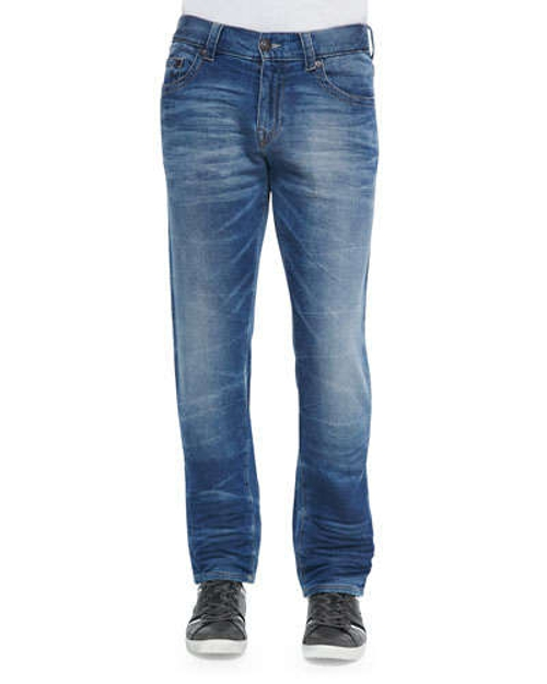 Geno Clear Waters Straight-Leg Denim Jeans by True Religion in Magic Mike XXL
