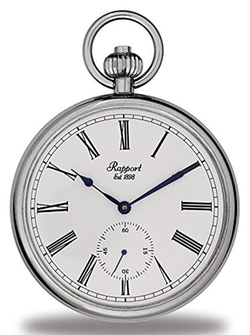 Silver Tone Pocket Watch by Rapport London in The Walk