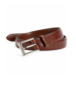 Polished Leather Belt by Saks Fifth Avenue Collection  in Fist Fight