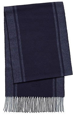 Wool Cashmere Colorblocked Scarf by Hugo Boss in Now You See Me 2