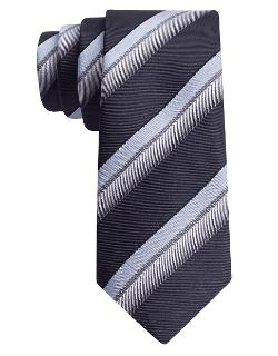 Silk Twill Stripe Tie by John Varvatos U.S.A in Anchorman 2: The Legend Continues