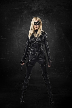 Custom Made Black Canary Suit by Maya Mani (Costume Designer) in Arrow
