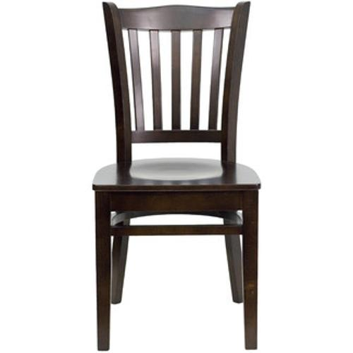 Vertical Slat Back Side Chair by Hercules Series in Ride Along