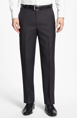 Flat Front Wool Trousers by Santorelli in Entourage