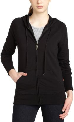 Juniors French Terry Hoody Jacket by Dickies Girl in Wish I Was Here