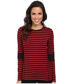 Stripe Colorblocked Top by Michael Michael Kors in Clueless