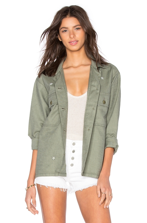 Army Shirt Jacket  by The Great in xXx: Return of Xander Cage