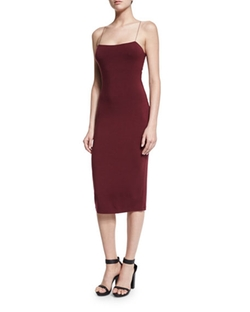 Strappy Camisole Midi Dress by T By Alexander Wang in Fifty Shades Darker