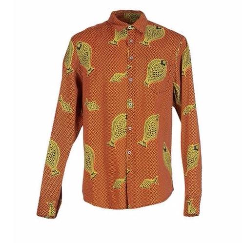 Pattern Shirt by Magò East Africa in Unbreakable Kimmy Schmidt - Season 2 Episode 7