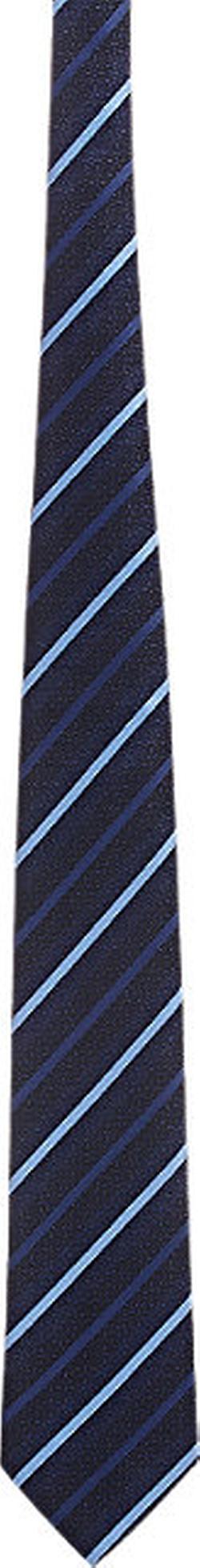Diagonal-Striped Necktie by Ermenegildo Zegna in Suits
