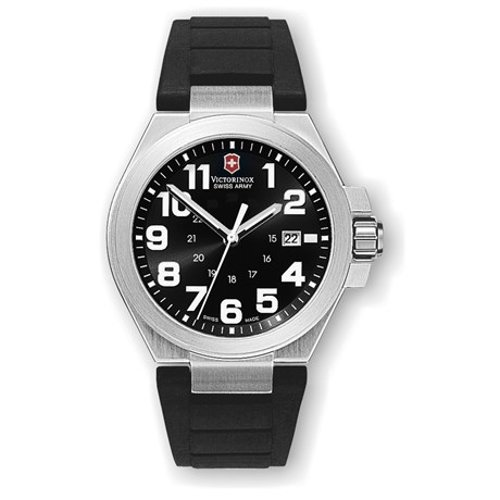 Rubber Strap Convoy Watch by Victorinox Swiss Army in That Awkward Moment