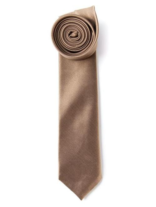 Plain Stitched Tie by Mr Start in The Hundred-Foot Journey