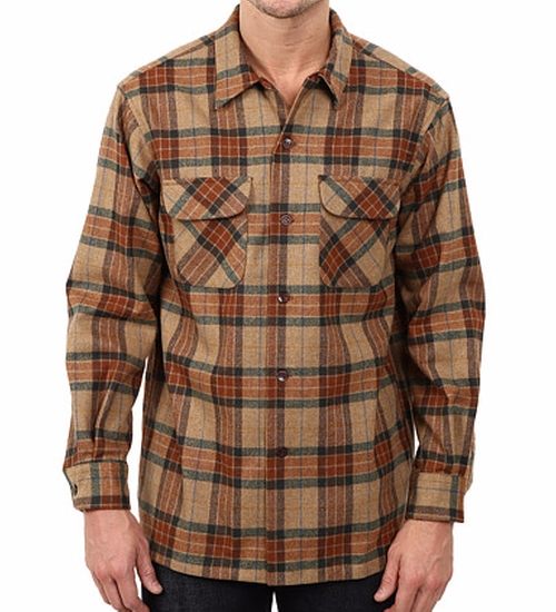 Board Shirt by Pendleton in New Girl