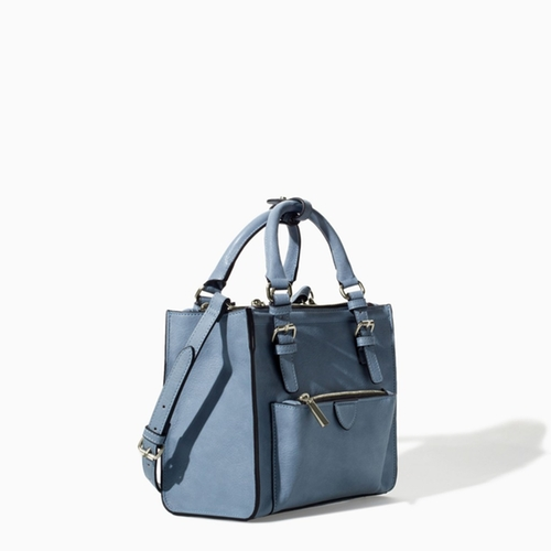 Mini City Bag with Zip Details by Zara in Pretty Little Liars - Season 6 Episode 2