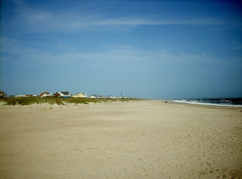Caswell Beach Oak Island, North Carolina in The Longest Ride