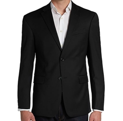 Trim-Fit Wool Two-Button Sportcoat by Tommy Hilfiger in House of Cards