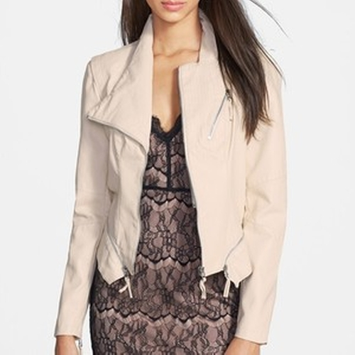 Faux Leather Jacket by Blank NYC in Pretty Little Liars - Season 6 Episode 4
